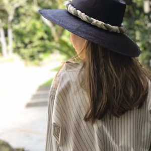 Hand Embroidered Rope Hat